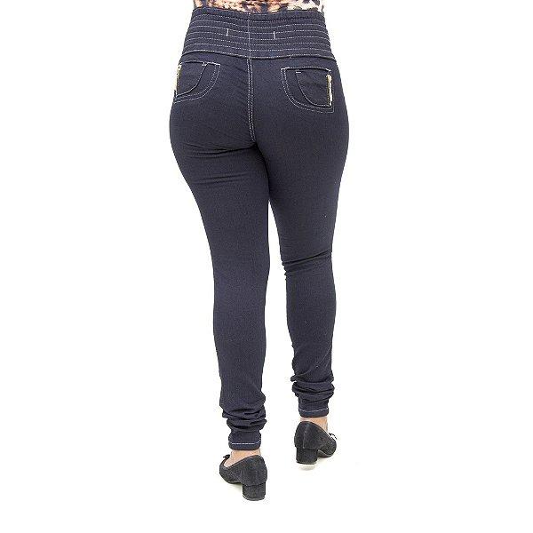 Calça Jeans Feminina S Planeta Levanta Bumbum com Elástico