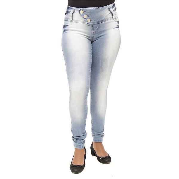 Calça Jeans Feminina Legging Thomix Clara Levanta Bumbum