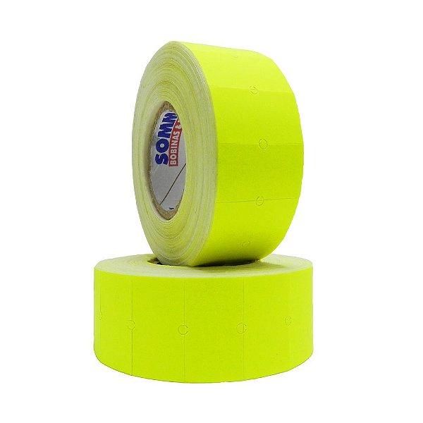 Etiqueta MX-5500 Sem Segurança c/1000 Fluorescente Amarelo