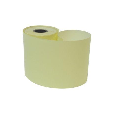 Bobina 57mm 1 Via Térmica Amarela com 15m com 35 rolos