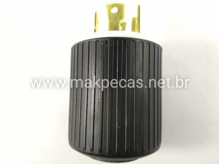 PLUG DE 4 PINOS 220V GERADOR BRANCO B4T2500/ 5000/6500/1200