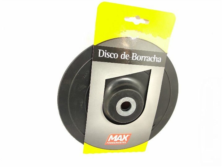 DISCO DE BORRACHA 7'' 177,8MM MAX FERRAMENTAS