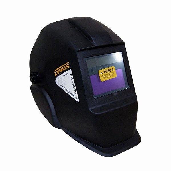 MASCARA DE SOLDA MSL-5000 AUTOESCURECIMENTO C/ CONTROLADOR