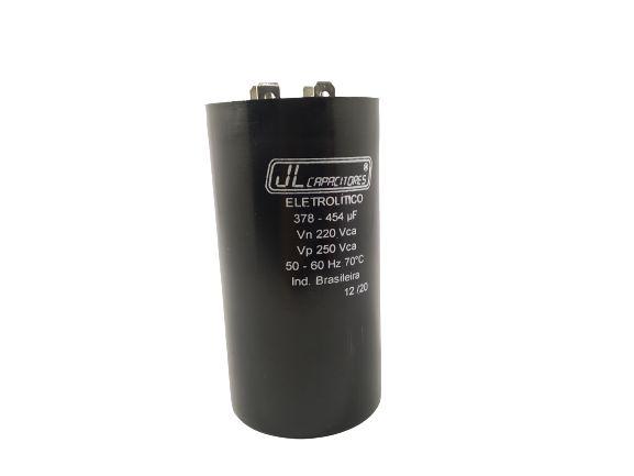 CAPACITOR ELETROLÍTICO 378-454UF 220V 50-60HZ 70ºC