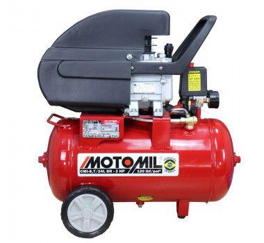 MOTOCOMPRESSOR CMI-8,7/24BR MOTOMIL 120LBS 2HP 127V/220V