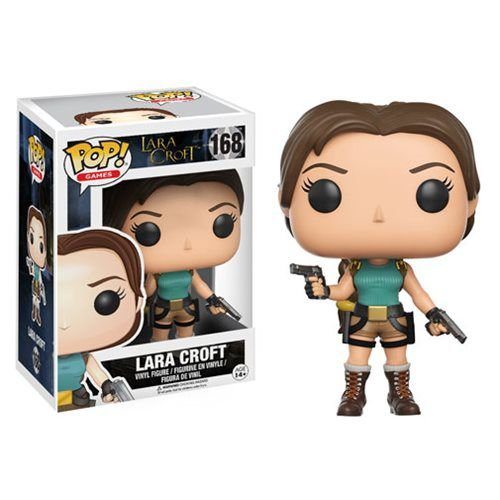 Tomb Raider Lara Croft Funko Pop! Vinyl Figure #168
