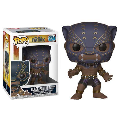 Pantera Negra Black Panther Funko Pop! #274 Guerreiro