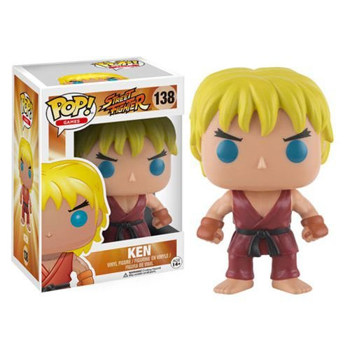 Street Fighter Ken Funko Pop! #138 - Original