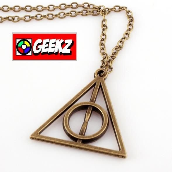 COLAR HARRY POTTER RELIQUIAS DA MORTE