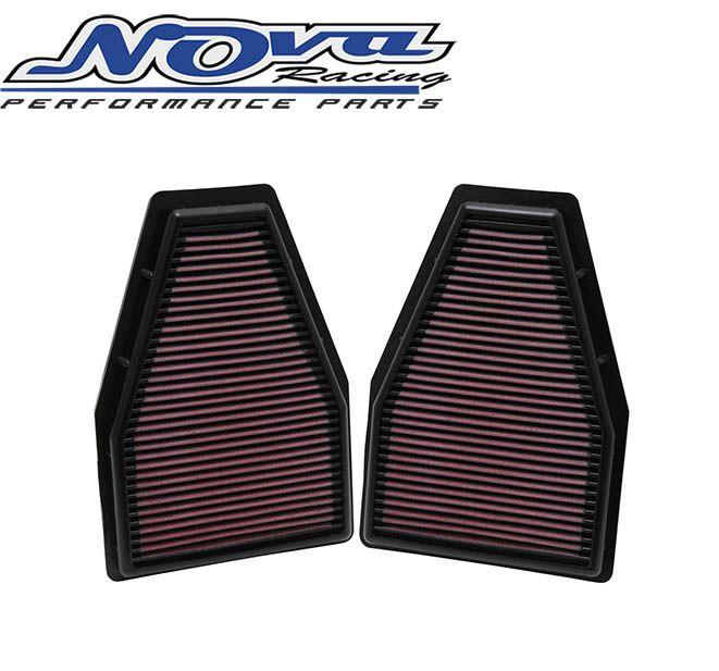 FILTRO K&N INBOX - PORSCHE 911 12-14 (CHECK MOTOR) KIT COM 2 PEÇAS