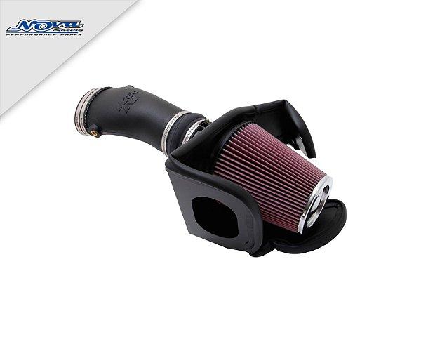 FILTRO INTAKE K&N - MUSTANG SHELBY GT500 – 2010 até 2014  - (COD. 57-2579)