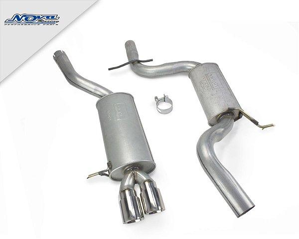 CATBACK JETTA MK6 TSI 2.0 200CV | 211CV - AÇO CARBONO - NÍVEL BAIXO
