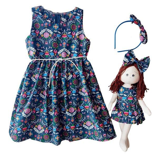 Kit Completo com Boneca Petit Fantasy