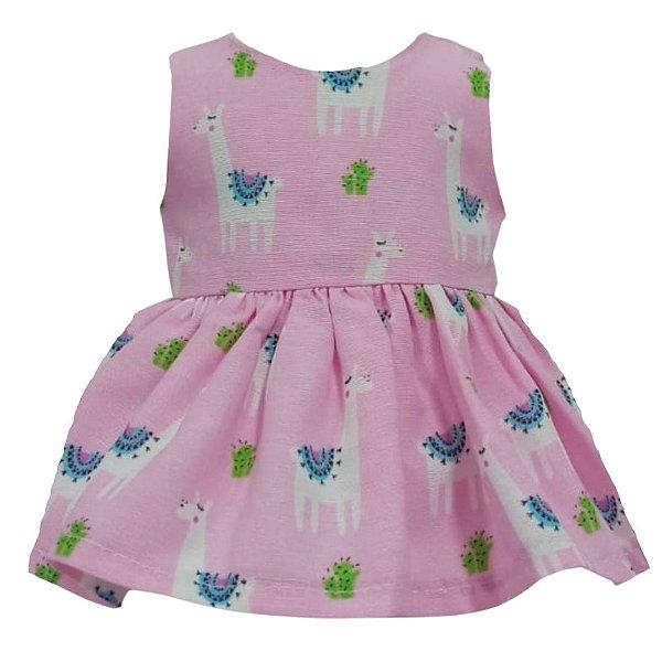 Vestido Boneca Lhama American Girl