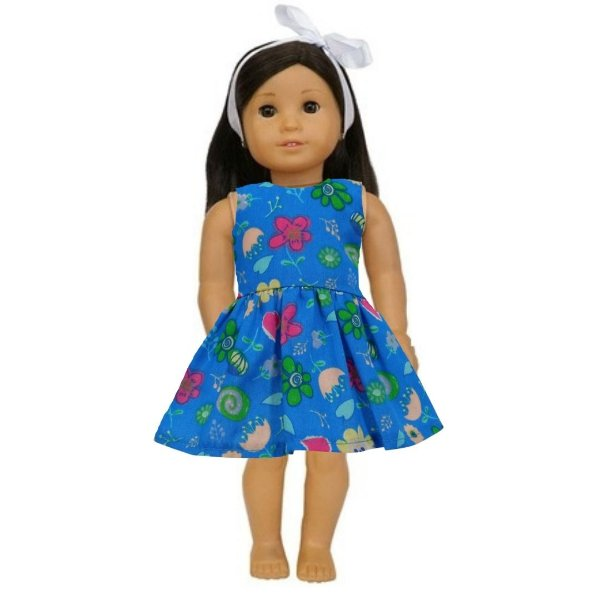 Vestido Boneca Royal American Girl
