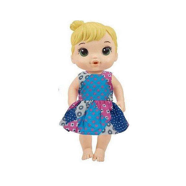 Vestido Boneca Patch Baby Alive