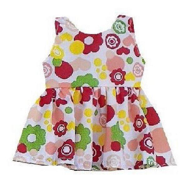 Vestido Boneca Primavera Baby Alive
