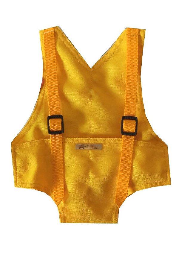 Canguru Amarelo para Boneca Baby Alive