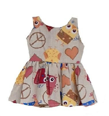 Vestido Boneca Coruja Hippie