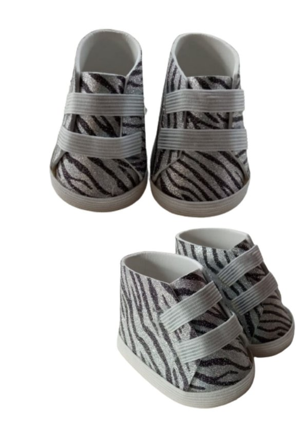 Sapatinho Boneca Zebra