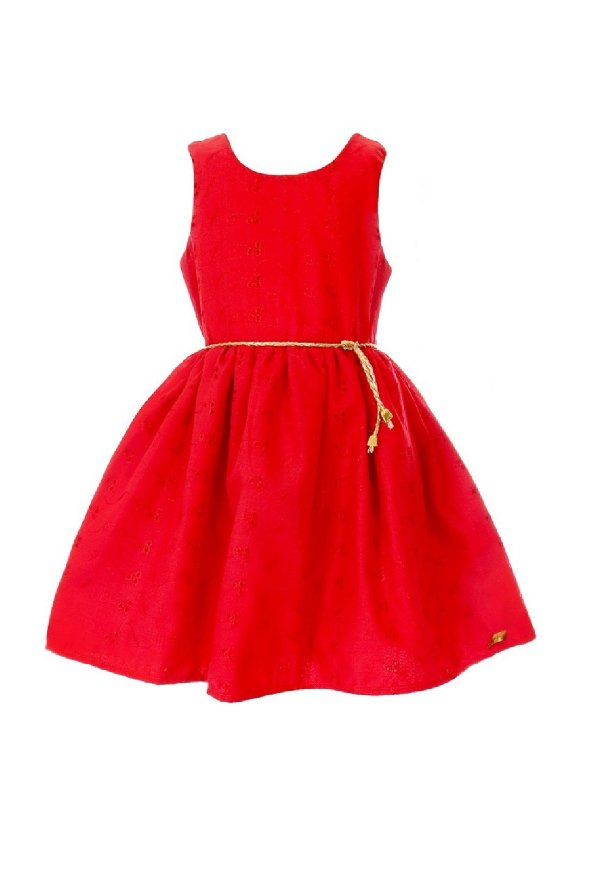 Vestido Petit Lese Vermelho