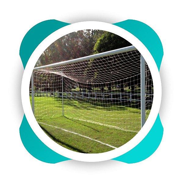 Rede Futebol de Campo Fio 4 Tipo Mexico Nylon - (Par)