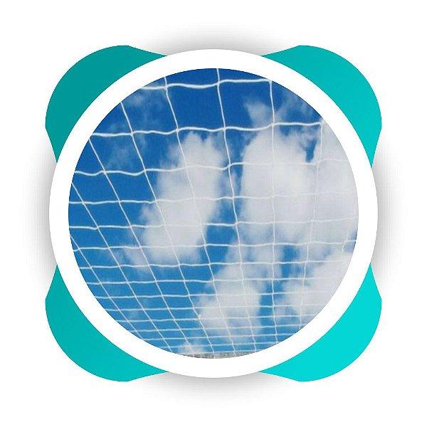 Rede De Proteção Esportiva Sob Medida  Fio 2 Malha 12 cm  Nylon - Rede De Futsal, Society e Campo de Futebol