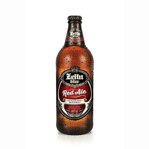 Cerveja Artesanal Zehn Bier Red Ale 600ml