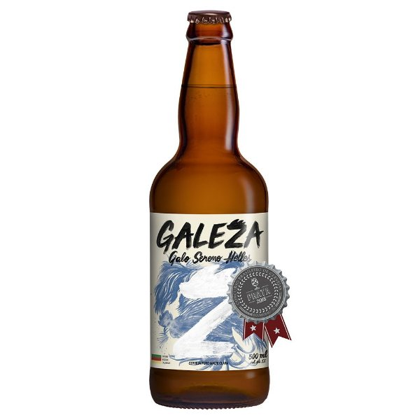 Cerveja Artesanal Galeza Galo Sereno Helles 500ml