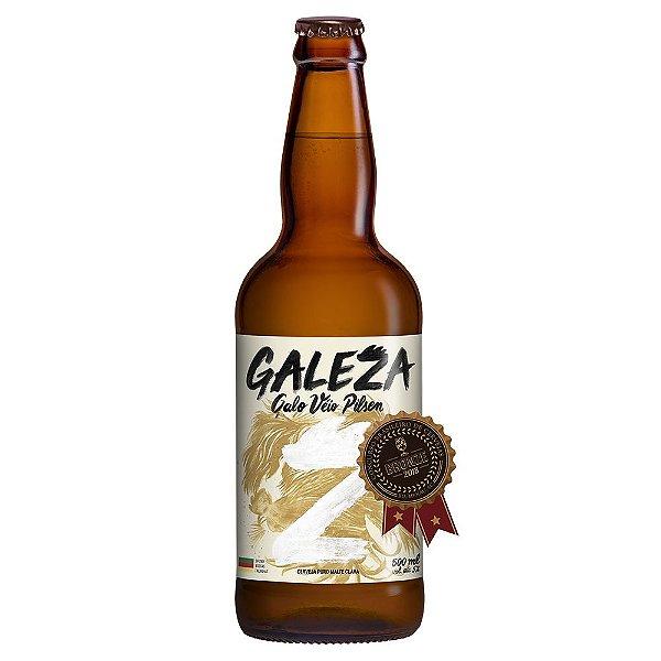 Cerveja Artesanal Galeza Galo Véio Pilsen 500ml