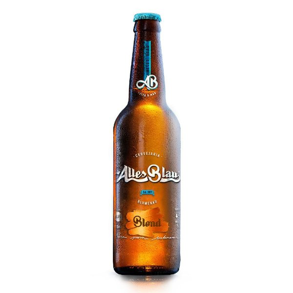 Cerveja Artesanal Alles Blau Blond 355ml