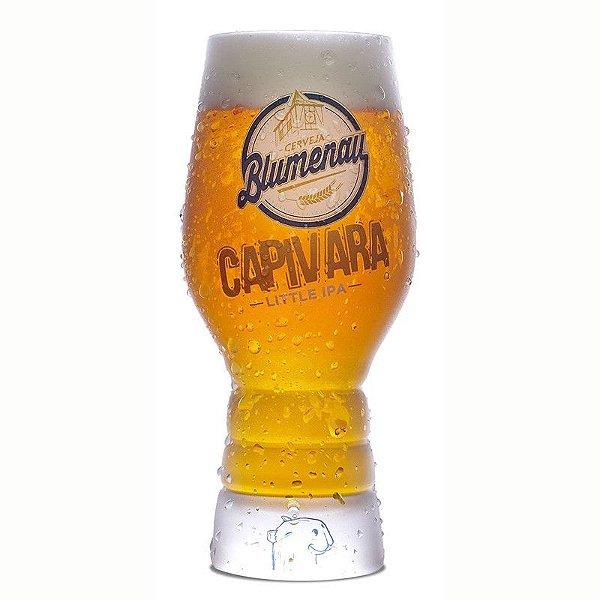 Copo de Cristal Cerveja Blumenau Capivara Little IPA 300ml