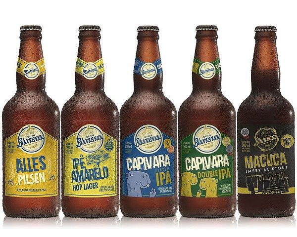 Kit Cerveja Blumenau 5 Cervejas