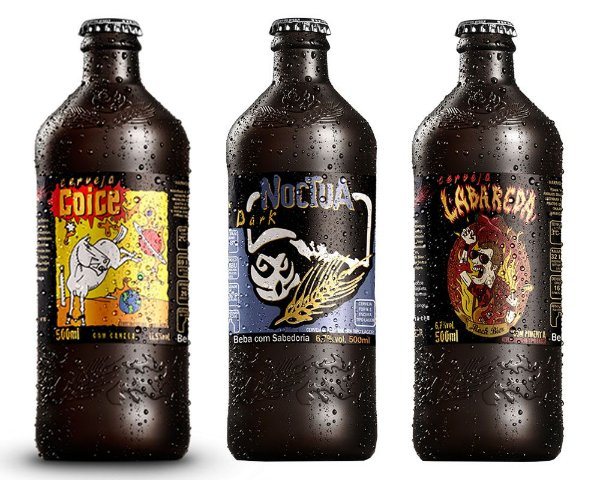 Kit Cerveja Artesanal Coruja 3 Cervejas