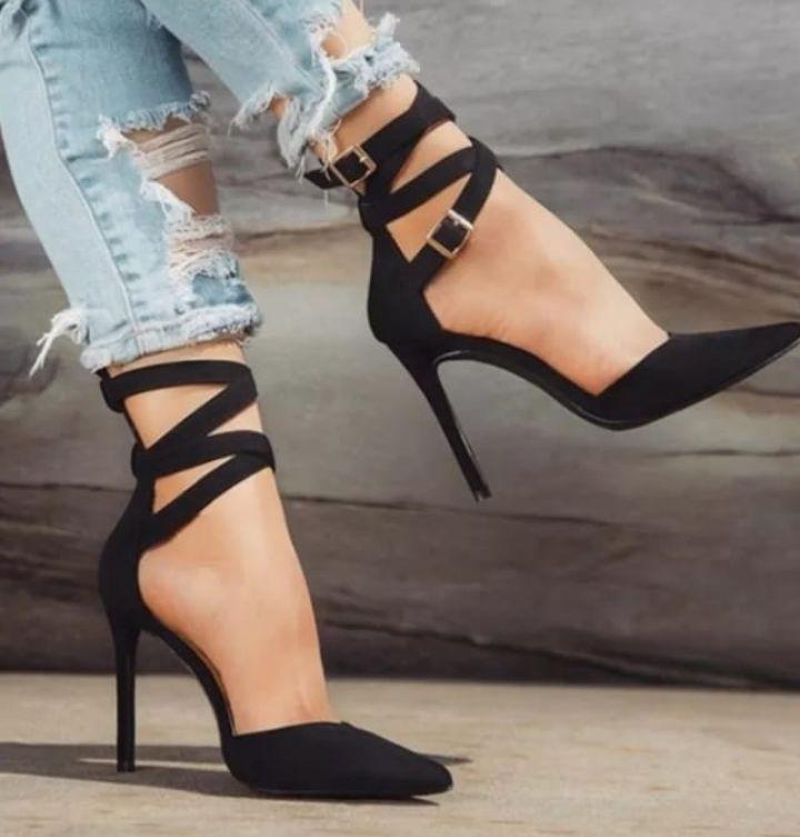 Sapato Feminino Scarpin Tryon