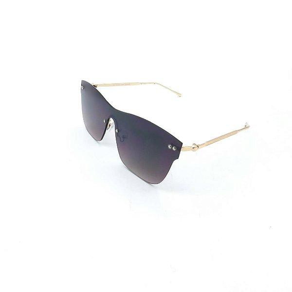 Óculos Solar Prorider Dourado Com Lente Degradê Fumê - H01949-C1