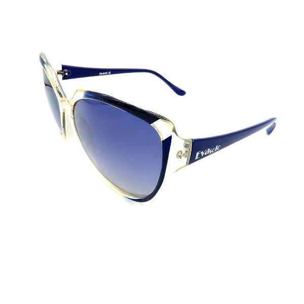 Óculos de Sol Prorider Retrô Transparente e Azul Com Lente Degradê Azul -  GRACIEN-C1