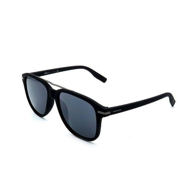 Óculos De Sol Prorider Retrô Preto Detalhado com Lente Fumê - LM9312-C4