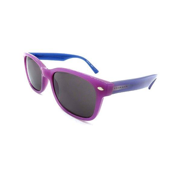 Óculos de Sol Prorider Retrô Rosa e Azul com Lente Fumê - RX30398825