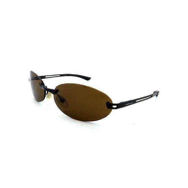 Óculos de Sol Prorider Preto Fosco com Lentes Marrom - M1MINC