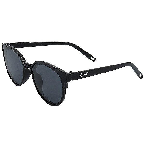 Óculos de Sol Infantil ZJim Silicone Arredondado Preto