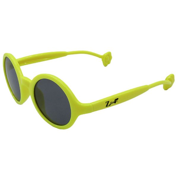 Óculos de Sol Infantil ZJim Silicone Oval Verde