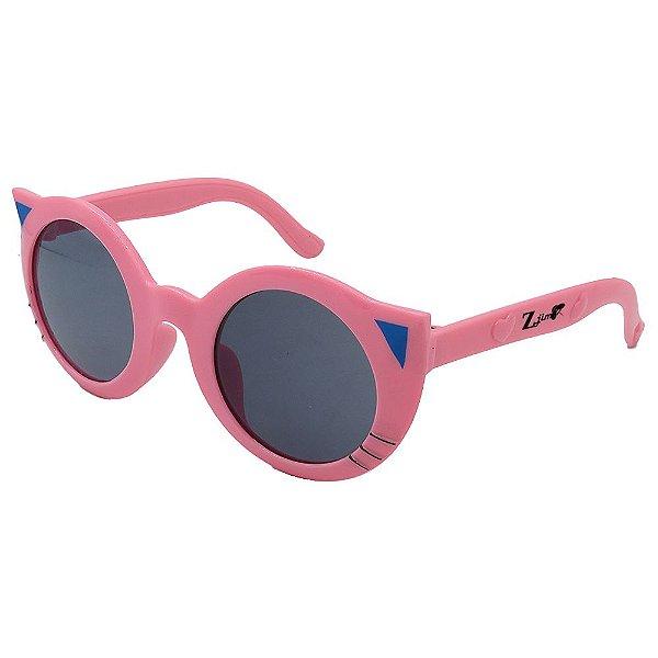 Óculos de Sol Infantil ZJim Gatinho Rosa