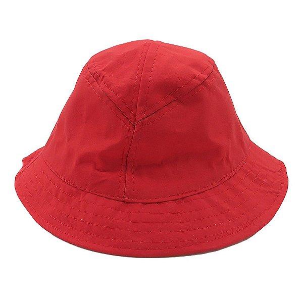 Chapéu Bucket Infantil Zjim Vermelho