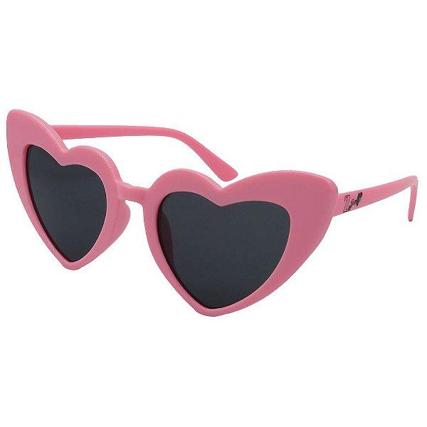 Óculos de Sol Infantil Zjim Coração Rosa