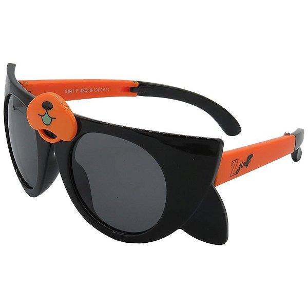 Óculos Infantil Zjim Abelha Preto e Laranja
