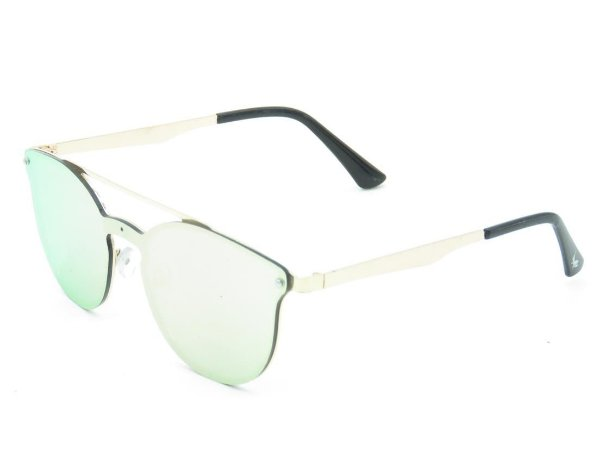 Óculos de Sol Prorider Dourado com Lente Espelhada - SIF