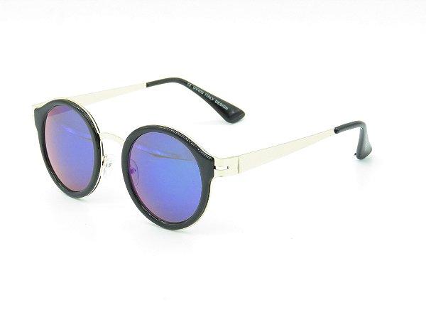 Óculos de Sol Prorider Preto e Dourado - 3968