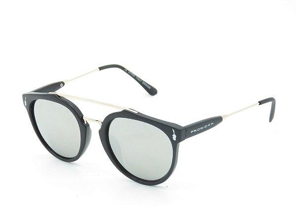 Óculos Solar Prorider Preto e Dourado 3901