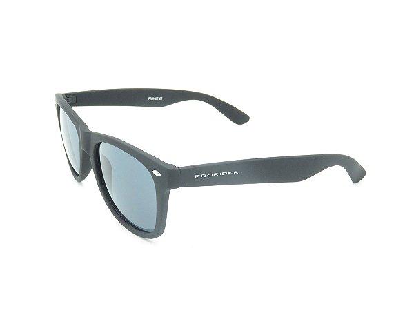 Óculos de Sol Prorider Preto Brilhante com Lente Fumê - 4947